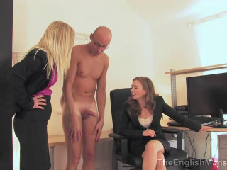 The English Mansion - Office Objectification - Dominance HD