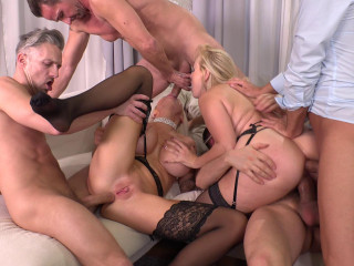 New Year's Eve Orgy HD