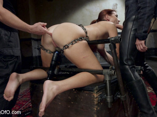 The Making of an Assfuck Slave, Sophia Locke Day Trio