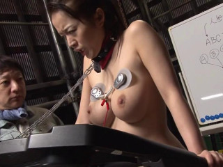 Asian Ponygirl - Horse Play Torment Victim Derby