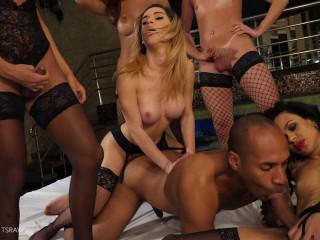 Yasmin Fonthys Valeria Pacheco Natalia Castro Bareback Gangbang Orgy (2018)