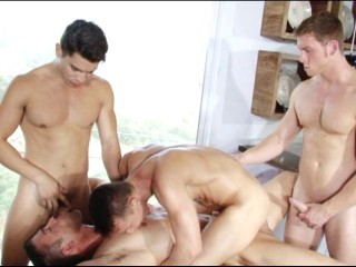 Together Orgy For Tight Sluts