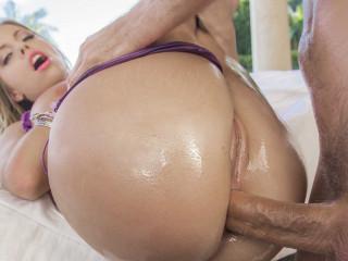 Her Sexy Juicy Ass Gets A Good Massage