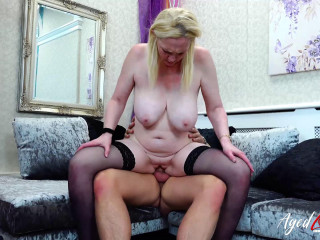 Suzie - Blonde Suzie from Brittany fucks with a guy