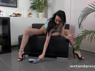 Tiny Wet Hotpants - Francys Belle
