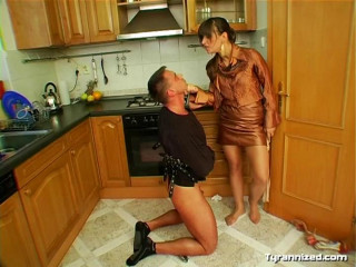 House Worker Gets The FemDom Treatment - Mia