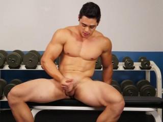 RandyBlue - Darren Ramos in the Gym