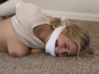Mouth Fucked and Hogtied Hell For Anabelle Pync!