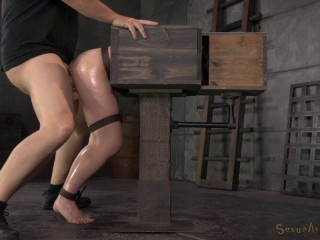 New encountered Amy Faye corded in a wooden