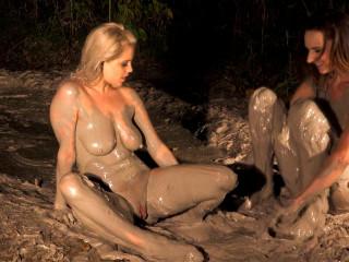 Lesbian Porn in Mud