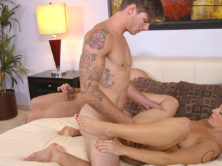 CorbinFisher Sebastian & Jamie Toy With Jasper