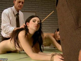 Angell Summers Melyssa -  Extreme, Bondage, Caning