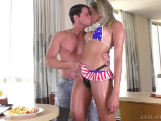 Stud Buttfucks Blonde