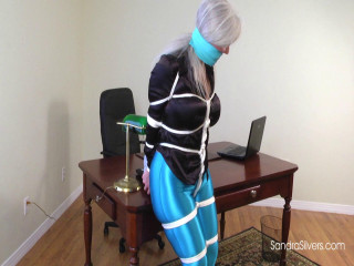 Sandra Silvers - Spandex Disco Pants and Super-Tight Ropes