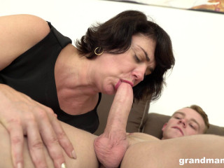 this busty granny whore needs young dick full hd