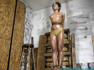 Crotch Roped Then Crotch Taped - Chi Chi Medina - Scene 2 - HD 720p