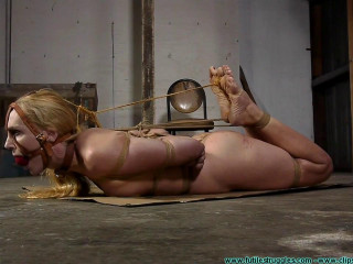 A Tight Box Hogtie for Ariel Anderssen Part 3