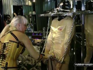 2 Rubbertoys To Play - Madame Gillette - Scene 2 - HD 720p