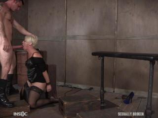 SexuallyBroken - Helena Locke likes being tucked utter of rock hard cock!