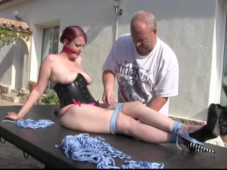 Supertightbondage - Her first ever Supertight Hogtie