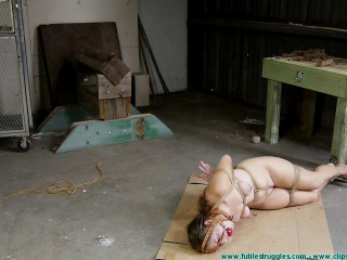Rachel's Tight Box Hogtie - Pt 2