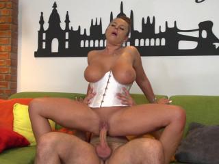 Susi  - German big breasted MILF fucking and sucking FullHD 1080p