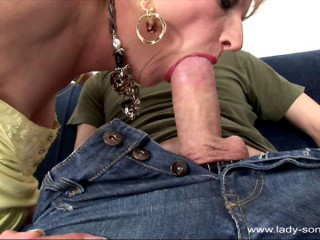 Chick Sonia - Trophy Wifey Denim And Panty