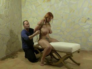 Supertight Breast Bondage and Hogtie Challenge - HD 720p