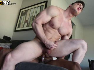 Ian Borne Fucks Collin Simpson For His Gay Porn Debut