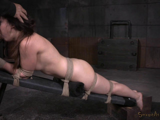 New encountered beauty Amy Faye strapped down roughly boned penalizing salivating deepthroat! (2015)
