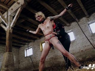 Femdoms Lullu Gun and Lady Cosima Torture - HD 720p