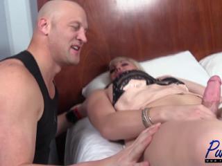 Canddi Leggz - Canddi fucks her boyfriend before his workout
