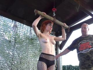 X-Bonus - Breast Suspension Challenge for Muriel - Cam Scene 2 - HD 720p