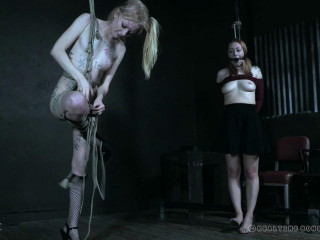 Whipping Party With Bondage
