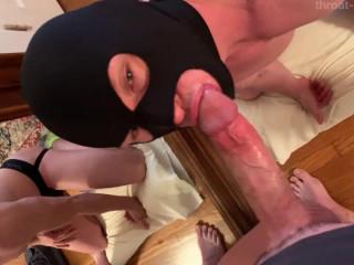 Throat-it-boy - Sexy Bandit Cocksucker - 480p