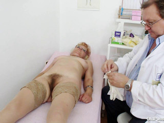 Bety - 57 years woman gynecology examination