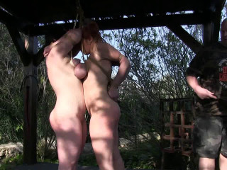 Toaxxx - (tx325) - Tit Pulling & Lashing Sesh for Bettine and Minuit