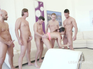 May Thai 5on1 No Pussy Gangbang With DP