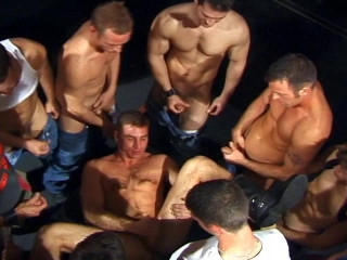 Ten Top Fuckers In Hard Orgy With Cumshots