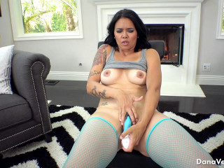 Dana Vespoli   Fishnet Stockings and Heels