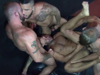 Welcome to the orgy!