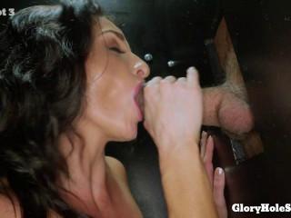 Silvia's First Gloryhole - FullHD 1080p