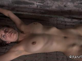 Bondage, domination, torture and strappado for sexy slavegirl