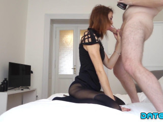 Tera - Petite Redhead Sucks and Fucks Her Brains Out FullHD 1080p