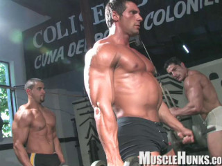 MuscleHunks - Nacho's Gym Part 1