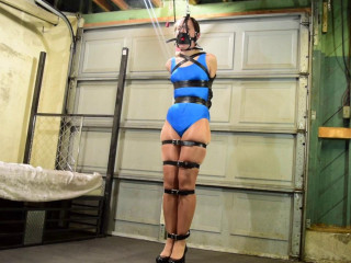 Armbinder Challenge-rope bondage videos