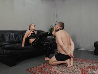 Cruel Punishments - Mistress Zita - Hard Smacks With Feet