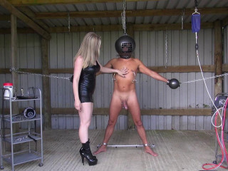 Shackled And Wanked