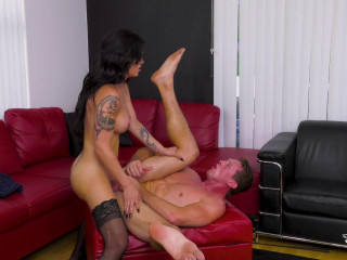 Domino Presley Fucked For The Very First Time