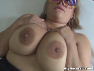 huge boob milf tease hard